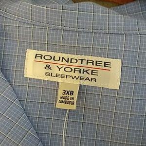 Roundtree & Yorke Big Man Pajama New